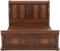 Durian EVERETT/QB Engineered Wood Queen Bed With Storage(Finish Color -  Cherry)