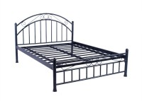 View Irony Furniture Metal King Bed(Finish Color -  Black) Furniture (Irony Furniture)
