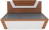 Durian THOMAS-I/KB/B Engineered Wood King Bed With Storage(Finish Color -  Teak/Frosty White)
