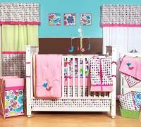 Bacati Cotton Bedding Set(Multicolor)