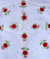 fashionadobe Satin Bedding Set(White)