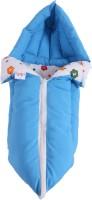 Jinglers Polyester, Cotton Bedding Set(Blue)
