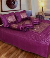 fashionadobe Satin Bedding Set(Purple)