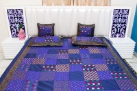 Halowishes Polydupion Bedding Set(Purple)
