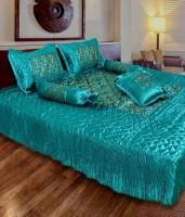 fashionadobe Satin Bedding Set(Green)