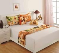 Swayam Cotton Bedding Set(Multicolor)