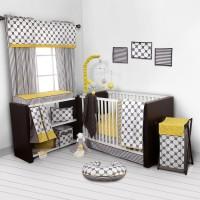 Bacati Cotton Bedding Set(Yellow)