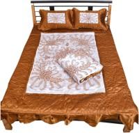 Urban Style Satin Bedding Set(Multicolor)