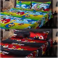 eCraftIndia Cotton, Satin Floral Double Bedsheet(2 Double Bedsheet + 4 Pillow Covers, Multicolor)