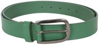Lino Perros Men Casual Green Genuine Leather Belt