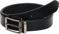 HORNBULL Men Formal, Casual Black Genuine Leather Belt