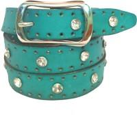 Skyforest Women Party Blue Genuine Leather Belt