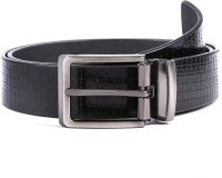 WildHorn Men Casual Black Genuine Leather Belt