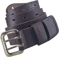 Fastrack Men Casual Brown Genuine Leather Belt