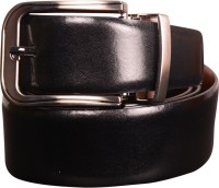 Cops Men Formal Brown, Black Genuine Leather Reversible Belt