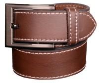 Cops Men Casual Brown Genuine Leather Belt