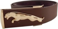 Bharatcraft Men Evening, Party, Formal, Casual Brown Synthetic Belt