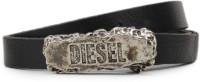 Diesel Women Black Metal Belt