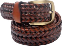 Cavallo Men Evening, Party, Casual Tan Genuine Leather Belt