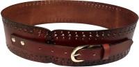 Skyforest Women Evening Brown Genuine Leather Belt