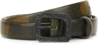 Diesel Men Green, Brown Metal Belt