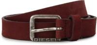 Diesel Men Maroon Metal Belt
