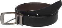 Czar Enterprises Men Formal Brown, Black Genuine Leather Reversible Belt