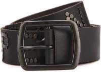 Superdry Men Black Genuine Leather Belt