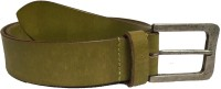 Skyforest Men Formal Green Genuine Leather Belt