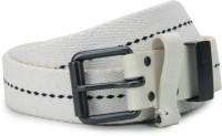 Diesel Men White Metal Belt