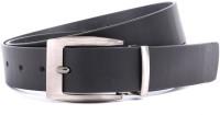 WildHorn Men Formal Black Genuine Leather Belt