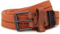 Diesel Men Orange Metal Belt