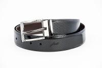 Frow Men Brown, Black Genuine Leather Belt