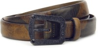 Diesel Men Brown, Green Metal Belt
