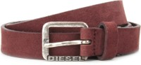 Diesel Men Maroon Metal Belt