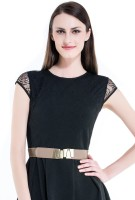 Kazo Women Casual Brown Artificial Leather Belt