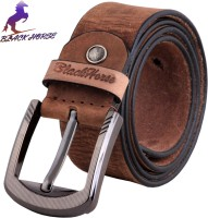 Blackhorse Men Casual, Evening, Formal, Party Brown Genuine Leather Belt