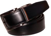 Cops Men Formal Brown, Black Artificial Leather Reversible Belt