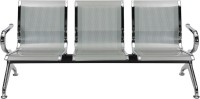 Nilkamal Italia Metal 3 Seater(Finish Color - Silver)