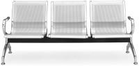 Nilkamal Elano Metal 3 Seater(Finish Color - Silver)