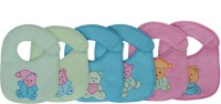 Aarushi Soft Cotton Baby Bib Pack of 6(Multicolor)