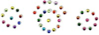 Fashion Max Fancy Crystal Forehead Multicolor Bindis(Fancy Design) - Price 140 60 % Off