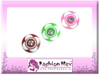Fashion Max Lotus Full Moon with Crystal Decoration Forehead Multicolor Bindis(Fancy Design)