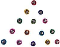 DCS Round Shape Forhead Multicolor Bindis(Bridal Bindi)