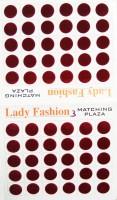 Lady Fashion Matchng Plaza 111020161203 Forehead Maroon Bindis(Stick on) - Price 123 31 % Off