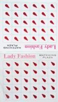 Lady Fashion LBIN0102 Forehead Maroon Bindis(Stick On) - Price 125 30 % Off