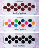 Lady Fashion Ashirwad Plain Bindi 2710201608 Forehead Multicolor Bindis(Stick on) - Price 148 50 % Off