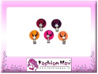 Fashion Max Multicolor Full Moon with 2 stone droping Forehead Multicolor Bindis(Fancy Design)