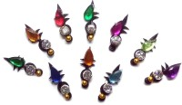 Fashion Max Tikka with reflective Pearl Forehead Multicolor Bindis(Fancy Design) - Price 120 52 % Off