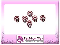Fashion Max Highly Decorative Pleasant Design Forehead Red Bindis(Fancy Design)